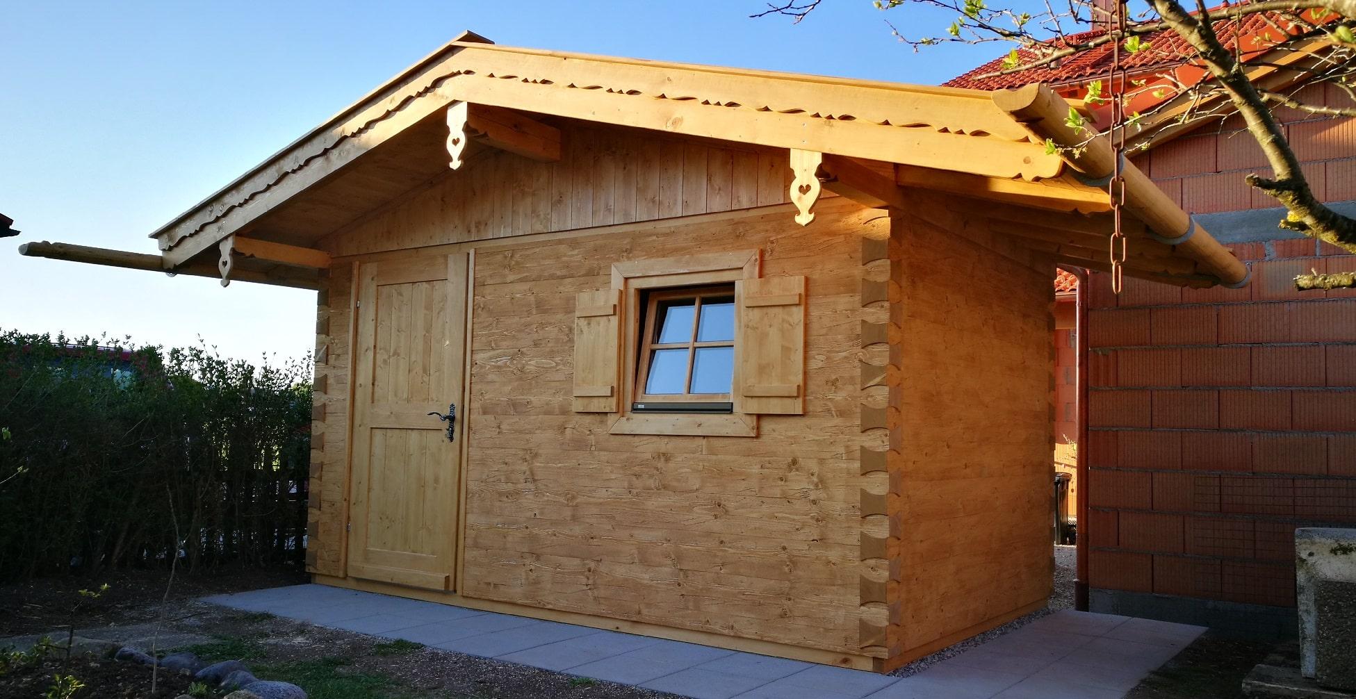 Gartenhaus Nach Mass Geratehaus Mehr Aus Holz Ropfl Holzparadies