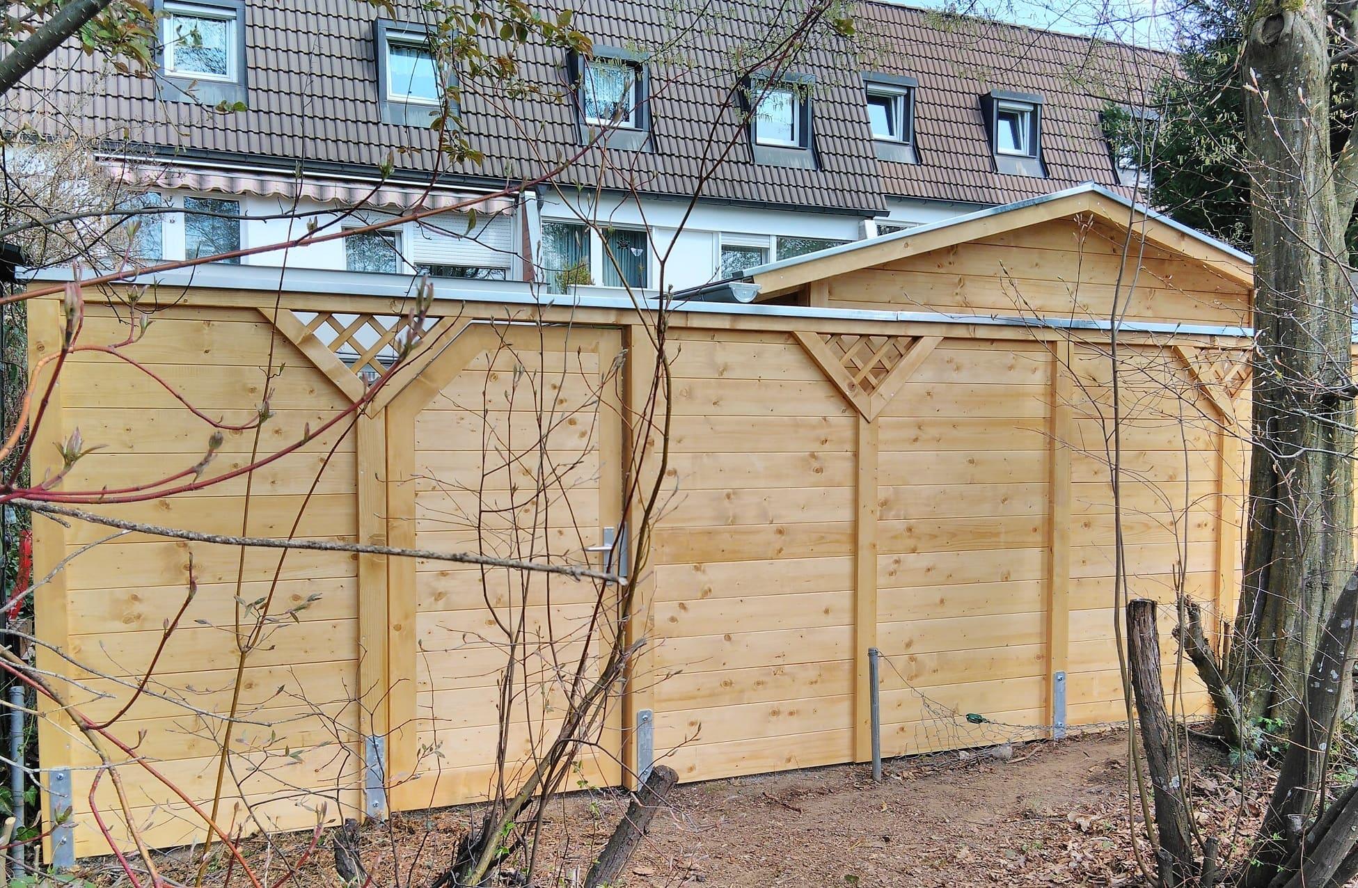 Sichtschutzwand Aus Holz Nach Mass Ropfl